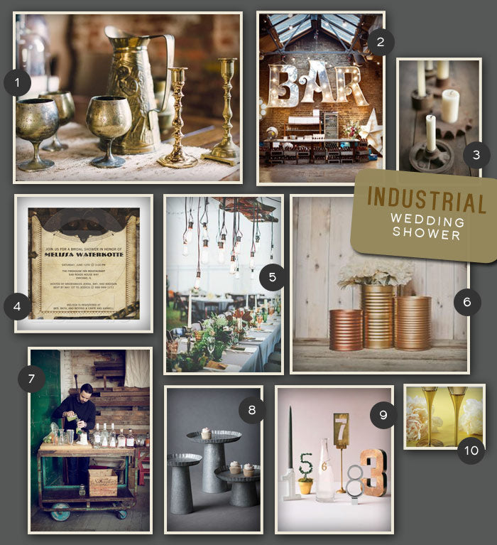Industrial-Wedding-Shower-Inspiration