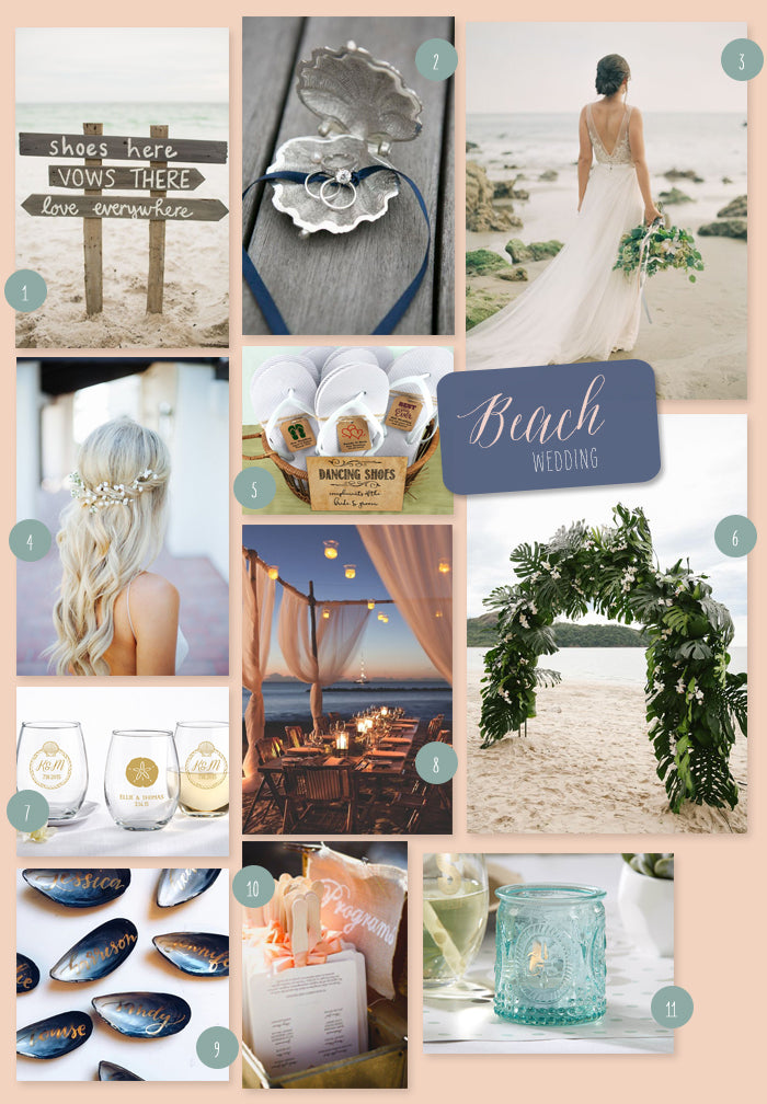 MWF Beach Wedding Inspiration