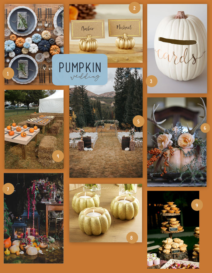 Ways to Incorporate Pumpkins into Your Wedding | My Wedding Favors