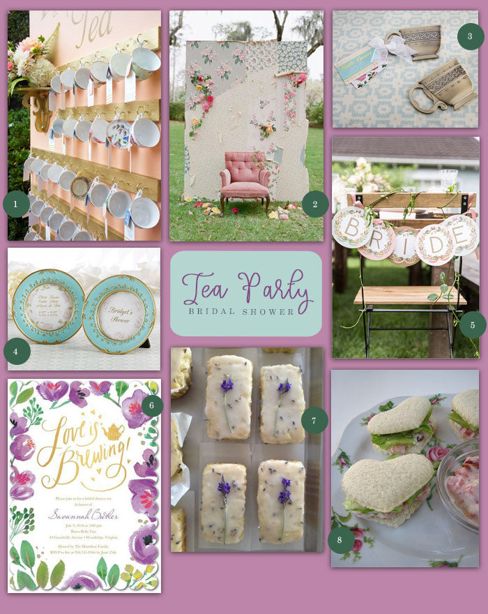 My Wedding Favors Tea Party Bridal Shower