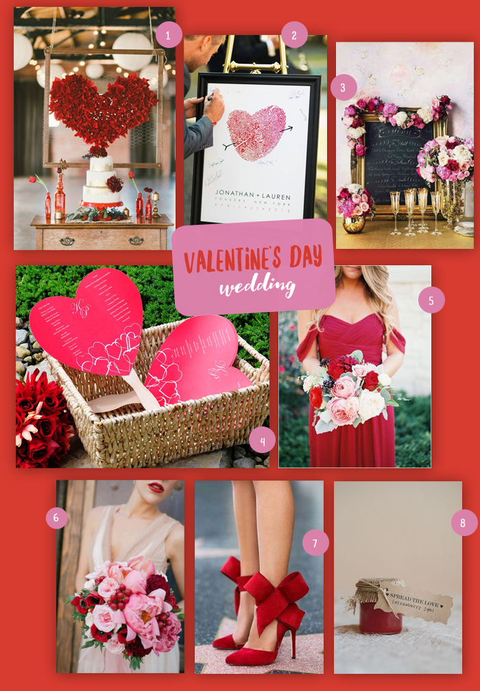Valentine's Day Wedding | MyWeddingFavors.com