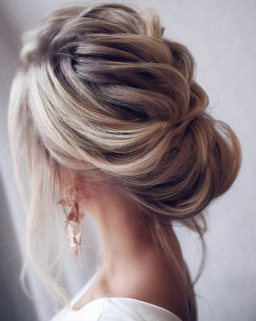 Wedding Hair Style- Updo | Wedding Hairstyle Trends for 2019 | My Wedding Favors