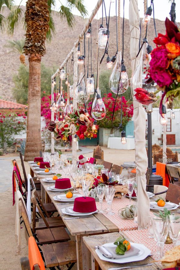 Moroccan Oasis Bridal Shower Theme