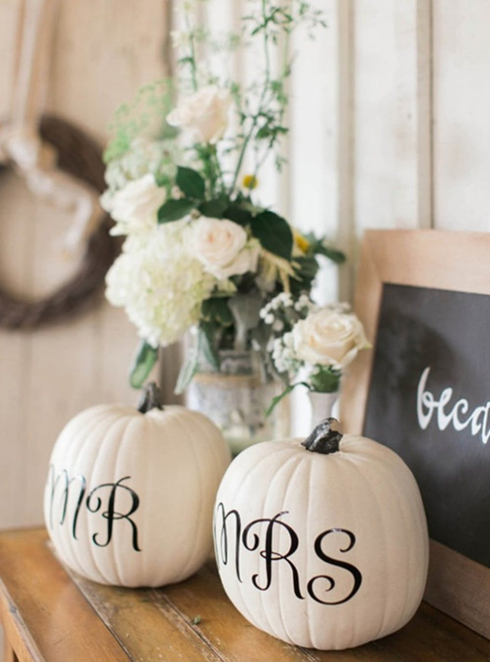 Mr and Mrs Pumpkins | Planning The Perfect Pumpkin Themed Shower | My Wedding Favors