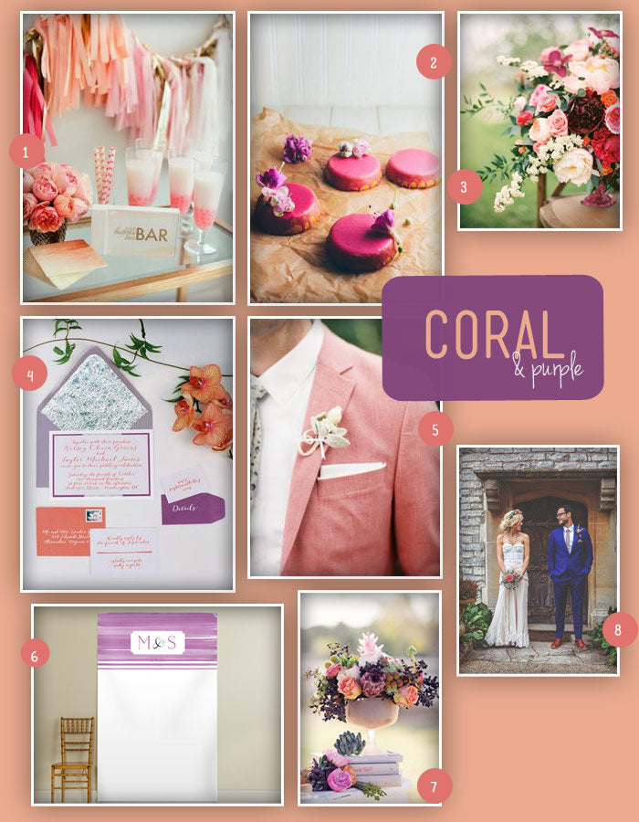 OWL-Coral-and-Purple-Wedding