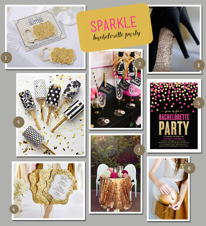 Sparkle-Bachelorette-Party