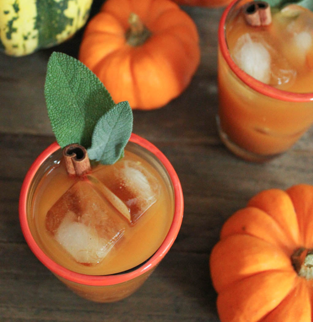 Pumpkin Punch | Planning The Perfect Pumpkin Themed Shower | My Wedding Favors