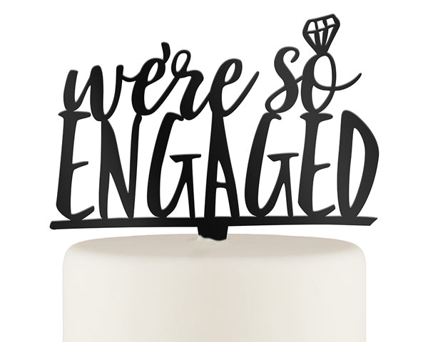 Cake Topper | Must-Haves for the Perfect Engagement Party | My Wedding Favors