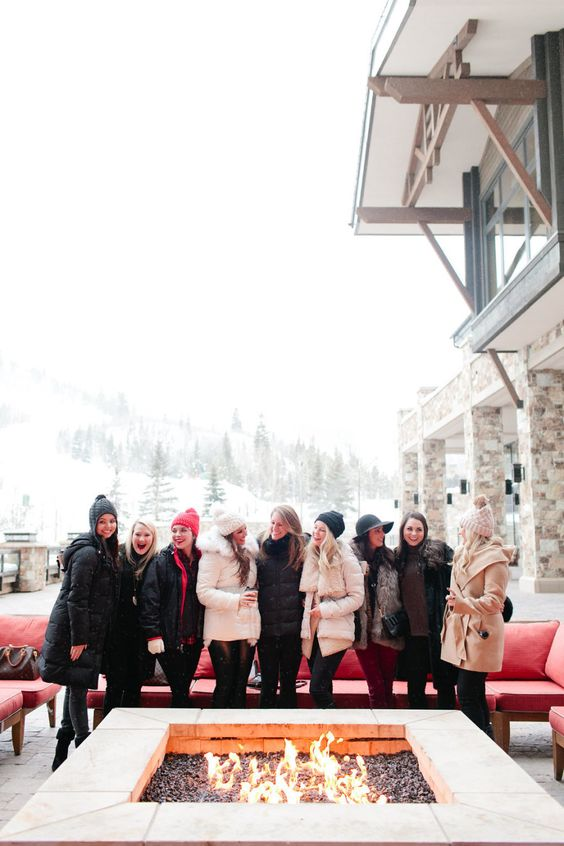 Ski Lodge Bachelorette | 8 Unexpected Destination Bachelorette Ideas | My Wedding Favors
