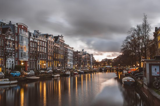 Honeymoon Destinations: Amsterdam | 5 Romantic Honeymoon Destinations for 2019 | My Wedding Favors