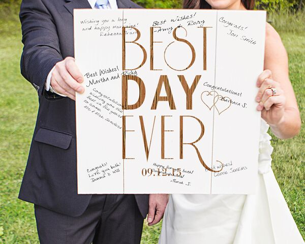 Wedding Guest Books: Wall Art