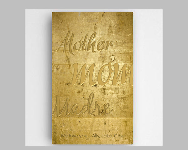 Mother's Day Gifts: Gold Sign