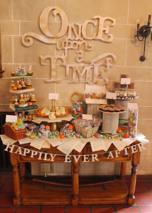 Book-Themed Bridal Shower: Fairy Tale   Project Denneler