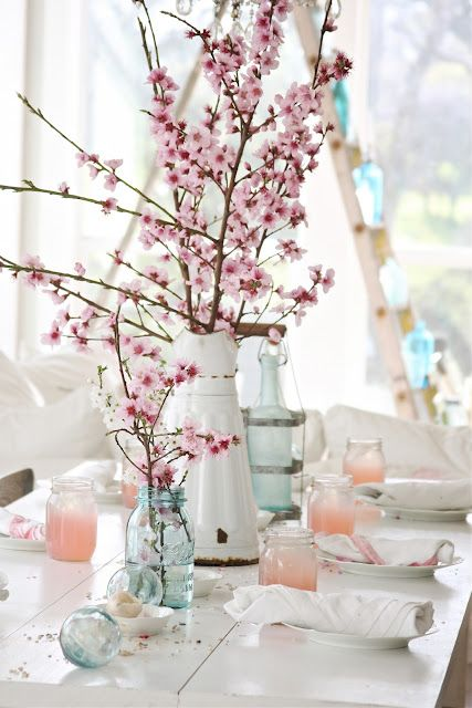 Spring Wedding Flowers: Cherry Blossoms