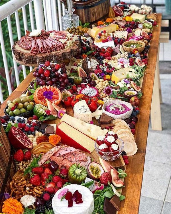 Cheese and Charcuterie Platter | 7 Trendy Wedding Appetizers | My Wedding Favors