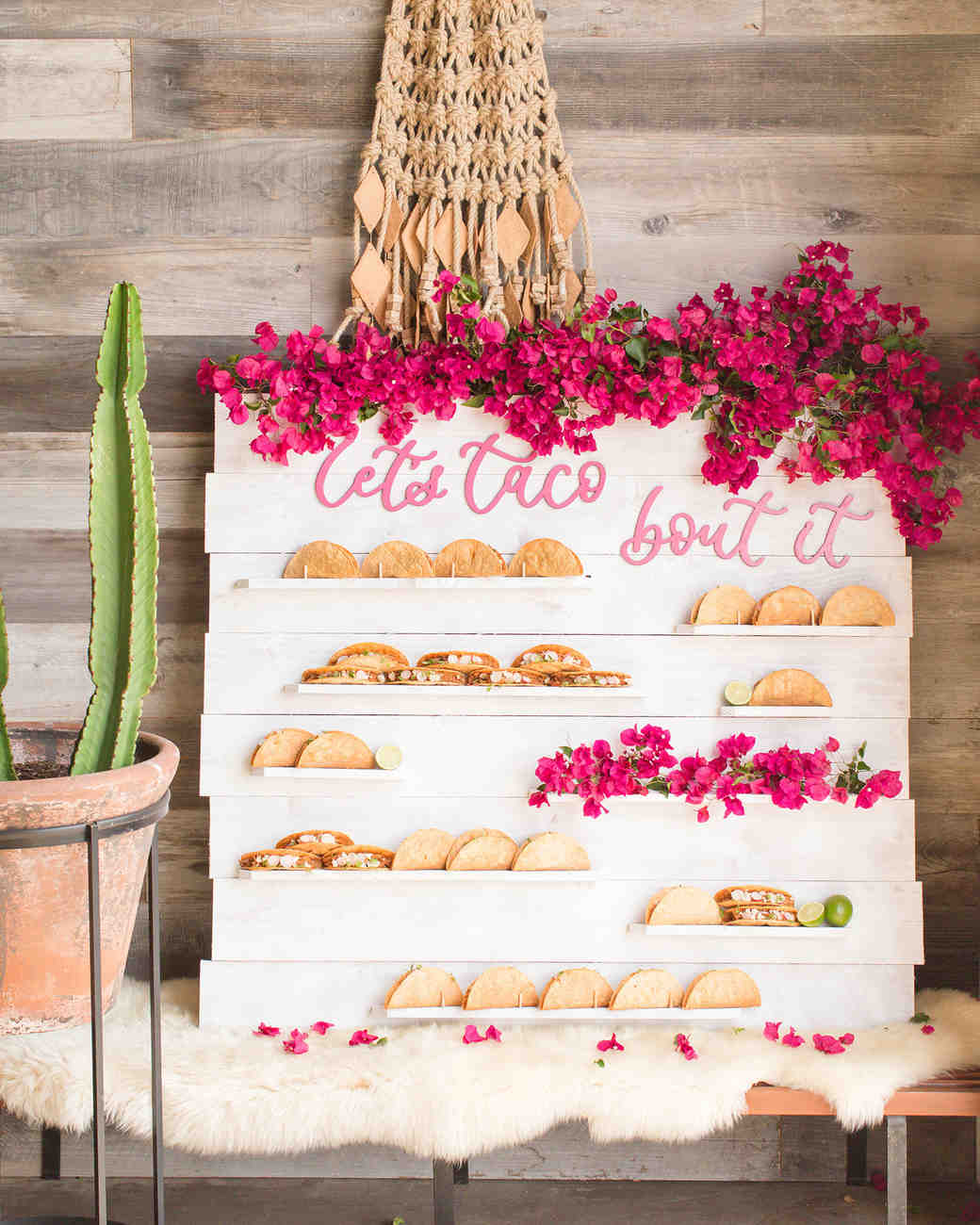 Taco Bar | 7 Trendy Wedding Appetizers | My Wedding Favors