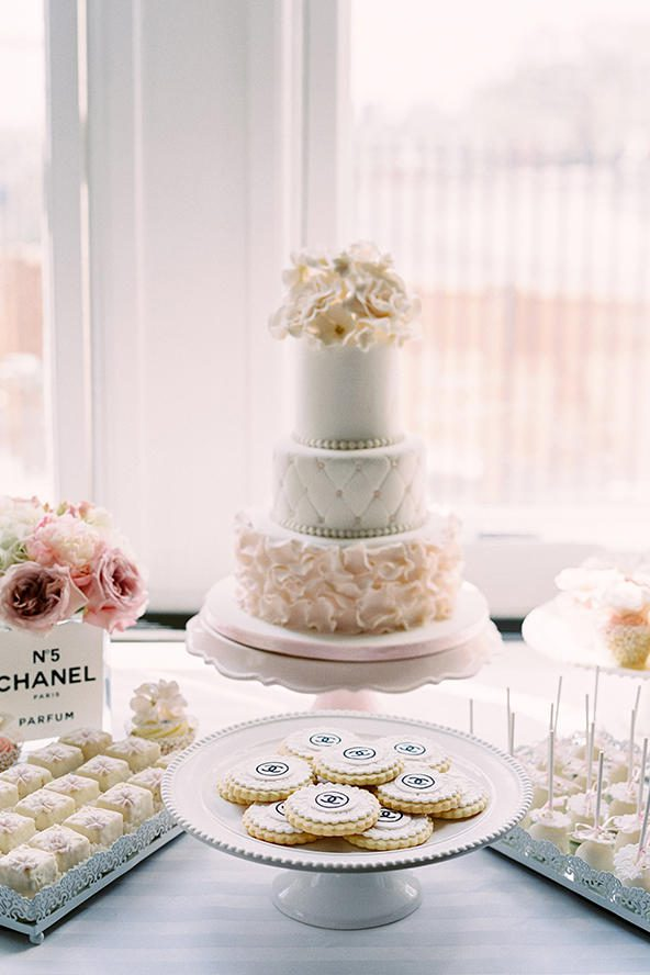 Coco Chanel in Paris Bridal Shower Theme