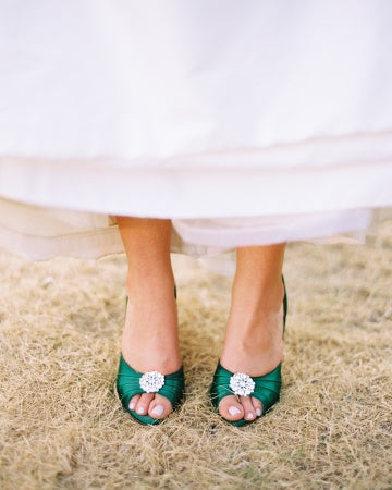 traditional emerald shoes
