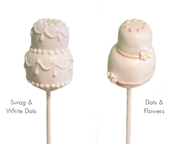 Cake Pops and Brownie Bites: Wedding Cake