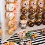Incorporating Doughnuts Into Your Wedding: Doughnut Wall