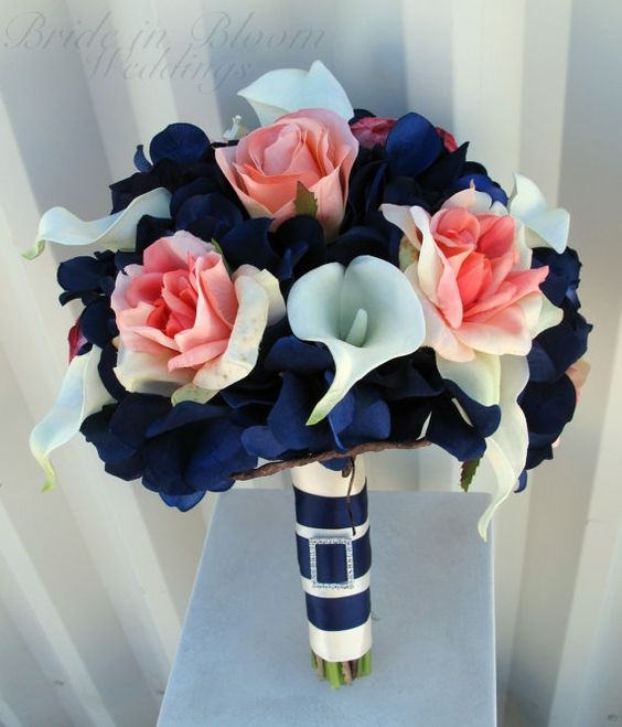 Nautical Bouquet | 7 Summer Wedding Bouquets | My Wedding Favors