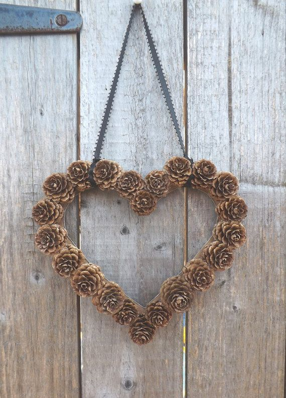 Pine Cone Wedding: Pine Cone Wreath