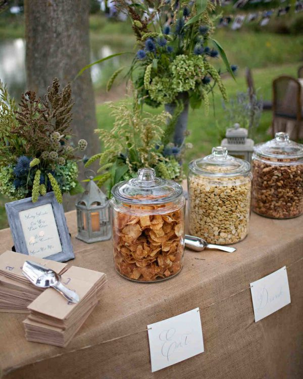 Salty Snacks | 7 Trendy Wedding Appetizers | My Wedding Favors