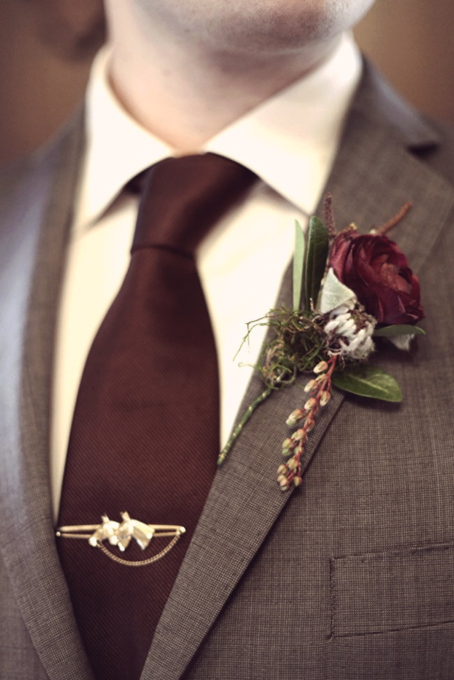 Marsala Men's Fashion: Marsala Tie