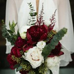Marsala Wedding Bouquets: Bold Bouquet