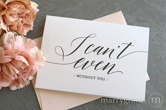 Asking The Maid Of Honor: I Can't Even Card