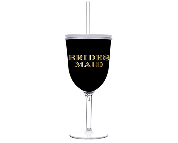 Spa Bridesmaid Gifts: Acrylic Tumbler