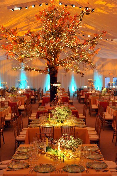 Autumn Wedding Indoors | Hot Tips for Planning an Autumn Wedding | My Wedding Favors
