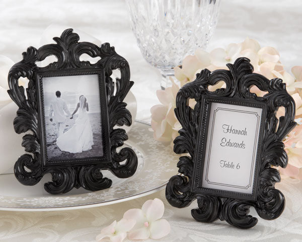 Baroque Place Card Holders | 5 Creative Seating Arrangement Ideas | My Wedding Favors