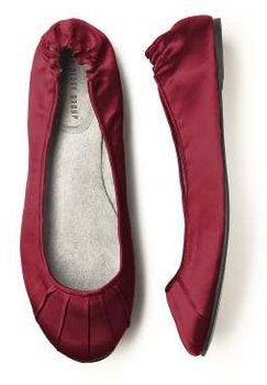 Marsala Wedding Shoes: Marsala Flats