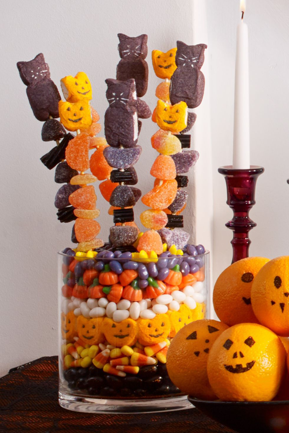 Candy Kebabs | Spooky Food For a Halloween Party | My Wedding Favors