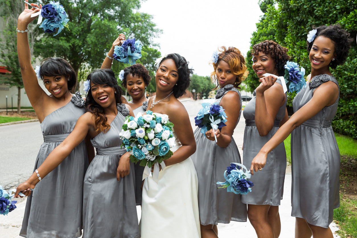 Ask your friends to be your bridesmaids