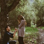 Wedding Proposal Ideas: Woods