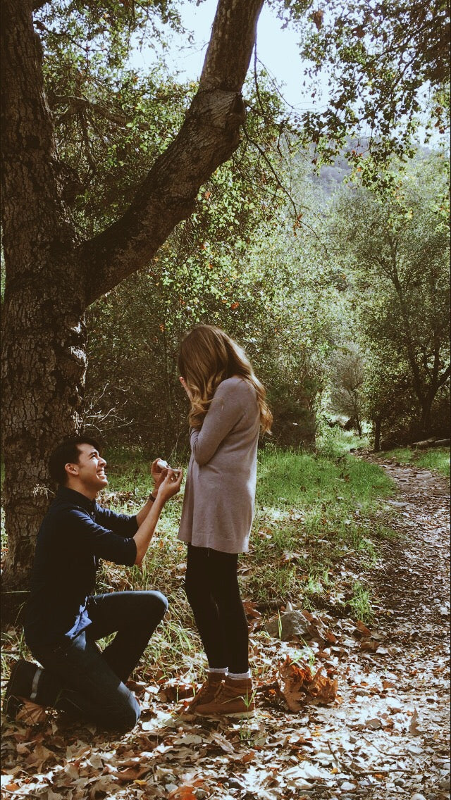 Wedding Proposal In The Woods | Wedding Proposal Ideas That You're Sure to Love | My Wedding Favors