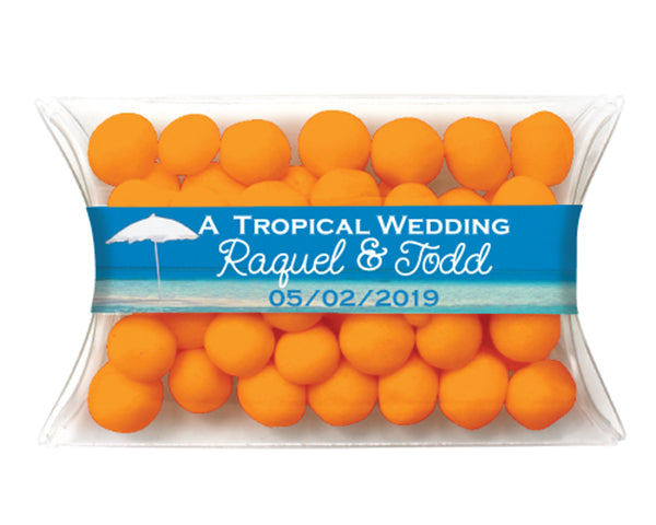 Beach Wedding Favors: Candy