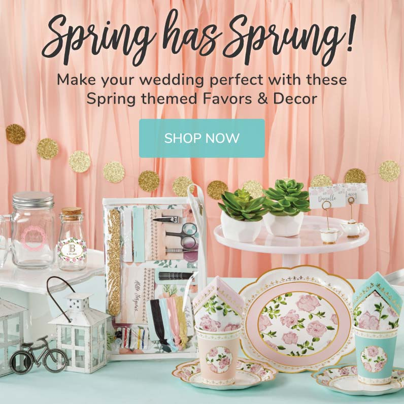 My Wedding Favors | Spring Wedding Favors, Decor & More!