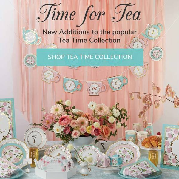 My Wedding Favors | Tea Time Party Wedding & Bridal Shower Favors