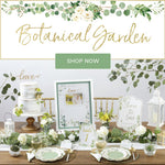 Botanical Garden - Charming rustic garden tableware & décor.
