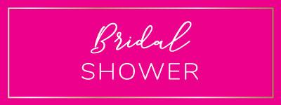 Bridal Shower Favors, Décor, Games & Prizes