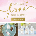 Hand Sanitizers for all occasions! Spread Love - Not Germs!