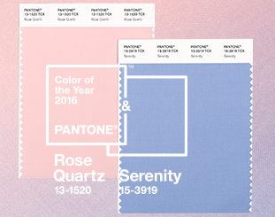 2016 Wedding Color Trend: Rose Quartz and Serenity