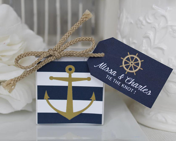 Nautical Favor Boxes | Favors and Decor for a Nautical Wedding | My Wedding Favors