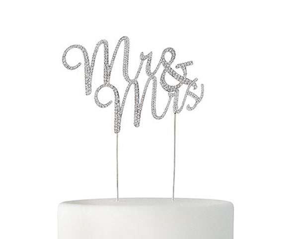 Mr and Mrs Cake Topper | 8 Cake Toppers For a Show Stopping Wedding | My Wedding Favors