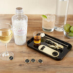 Barware Gift Set in Clear Acrylic Cocktail Shaker