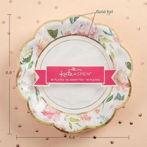 Floral Brunch Party Tableware Set