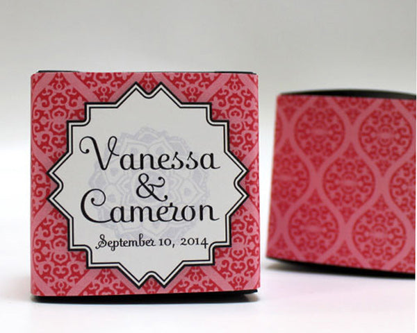 Moroccan Cube Favor Box Wrap (Many Designs Are Available)
